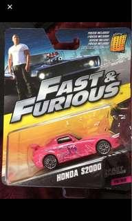 FAST & FURIOUS honda s2000