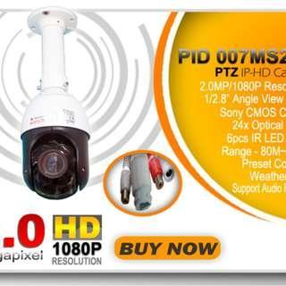 PID 007MS 2.0 PTZ IP 1080P HD Smartwatch PTZ Camera