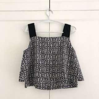 Nava Loose Crop Top (Can be used for Nursing)