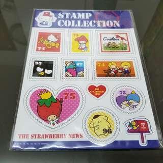 Sanrio卡通磁貼