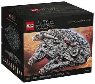 Lego Star Wars UCS 75192 millennium falcon