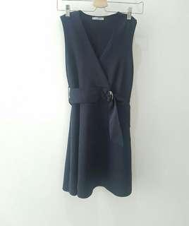 Zara Navy Chain Dress Original