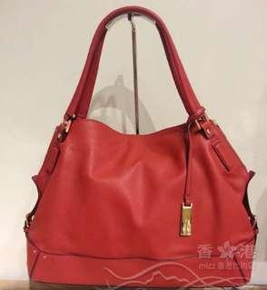 Rabeanco 100% new red leather bag