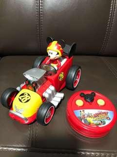 Authentic Mickey Roadster Remote Control Car