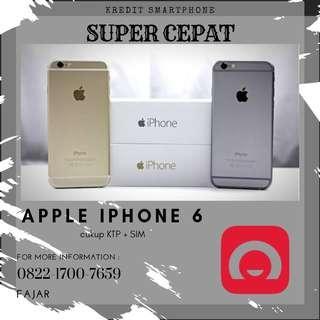 Ready Stock iPhone 6 resmi bisa kredit proses cepat tanpa ribet