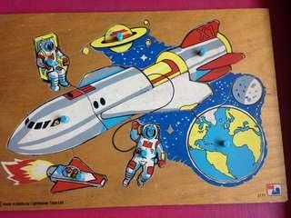 Rocket ship puzzle