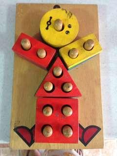 Preloved wooden toy
