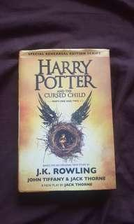 Hardbound Harry potter and the cursed child