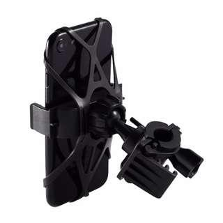 🆕 Phone Cradle Mount For bicycle, Motorcycle, E Bike 🚴And Scooter! Many Uses Safe And Secure Mobile Grip!  ✔Made of ABS, Not Cheap Plastic, Same Material Used In, LEGO® Bricks💪  ✔Adjustable Clamp 2 Settings - Can Clamp On Thick Handlebars!