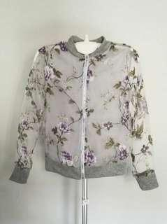 🆕 Organza Floral Jacket