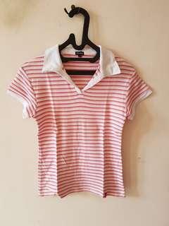 Pink stripes top