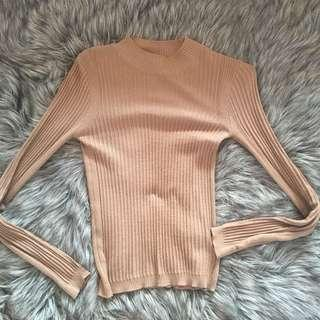 TOPSHOP mock neck