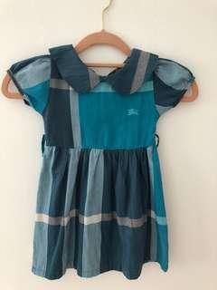 Burberry london blue dress