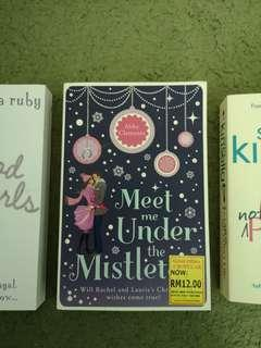 Books - Meet me under the Mistletoe