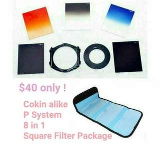 ▇ COKIN alike P system square filter 9 in 1 ▇