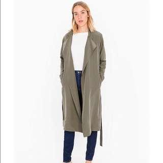 American apparel trench