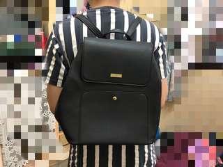 [PL] Bonita Faux Leather Backpack