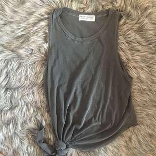 UO muscle T with tie on side