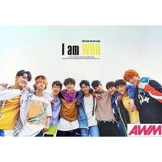 Stray Kids' I Am Who' Poster