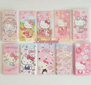 🌸FREE stickers!🌸BRAND NEW AUTHENTIC Sanrio Original (LIMITED EDITION DESIGN) Hello Kitty Long Red Packets Angbao Envelope💋No Pet No Smoker Clean Hse💋