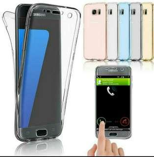 Crystal Clear Full Protection Case for Samsung 8