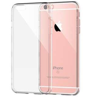 📱iPHONE 5/5S/SE clear silicone phone case