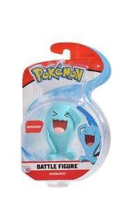 PO: Pokemon 3 Inch Articulated Battle Action Figure  - Wobbuffet