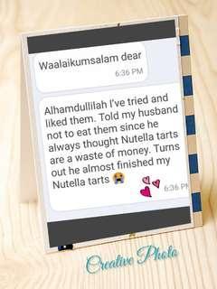 Alhamdulillah for all the encouraging feedbacks😊