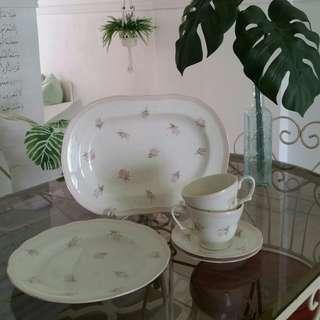 Roses Platter set