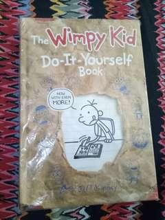 New!  The Wimpy Kid DIY book free SF in MM