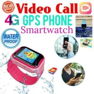 🚚 Waterproof 4G Video Call GPS Tracking Phone Watch