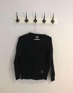 Roots Crewneck (W/ Side Zippers)   Size XS