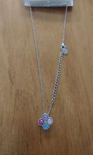 Helen necklace colourful clover