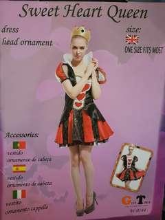🚚 Alice in wonderland Queen of Hearts