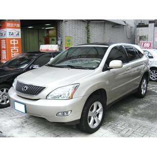 ✨雙十國慶特惠價!2006年型 凌志【RX330】日規 第二代 車況佳~『※高價收購中古車~』