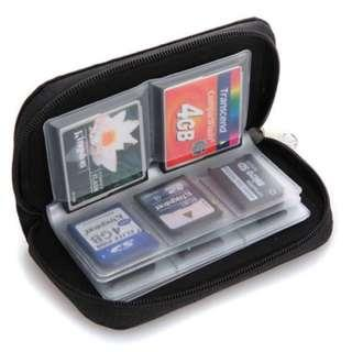 Memory Card Carrying Pouch