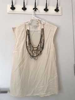 Country Road Size S loose top cream