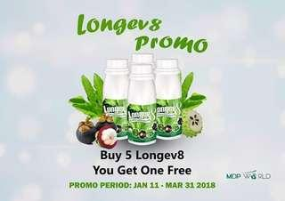 Longev8 Ashitaba 8-1 Herbal Drink