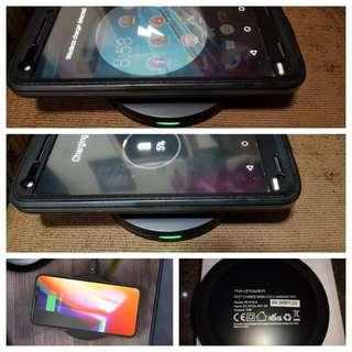 RAVPower Wireless Charger Qi Certified Fast Charging Pad Quick Charge 10W