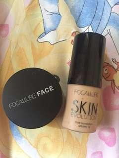 focallure foundation dan loose powder