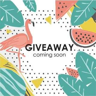 GIVEAWAY COMING SOON