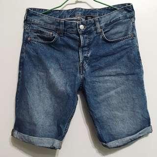 🚚 H&M 牛仔短褲 30腰