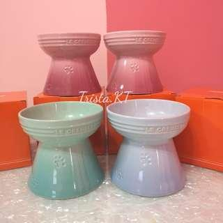 LE CREUSET Footed Pet Bowl