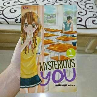 Buy 5 Get 1 Mysterious You (Hoshimori Yukimo) vol. 1 | Manga/Komik/Comic/Anime Murah