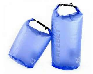 20L Frosted Blue Waterproof Sports Bag