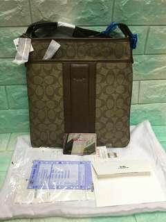 Authentic Quality Coach Body Bag