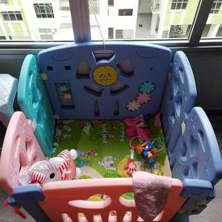 Baby Playpen. Selling Out As My Kid Dont Use It Anymore. Condition Is Not Bad. Used Only 2 Months