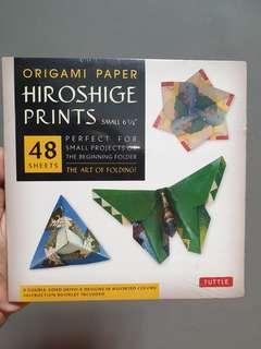Origami Paper Hiroshige Prints