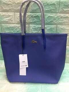 Authentic Quality Lacoste Metal Logo Tote Bag
