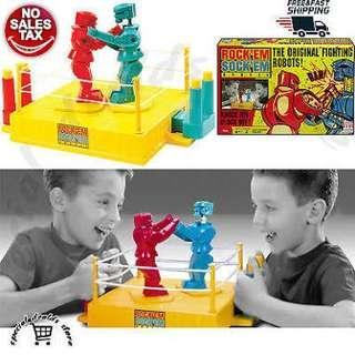 Toy story: Rock em sock em robots